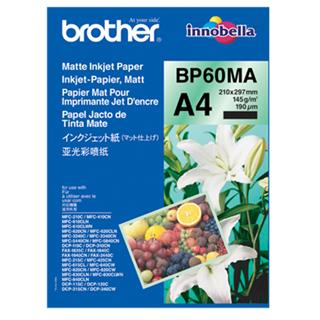 Brother Foto papir mat A4, 25 listov, 145g/m2
