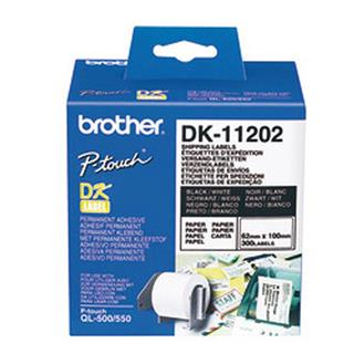 Brother DK11202 Nalepke za odpremo 62x100mm