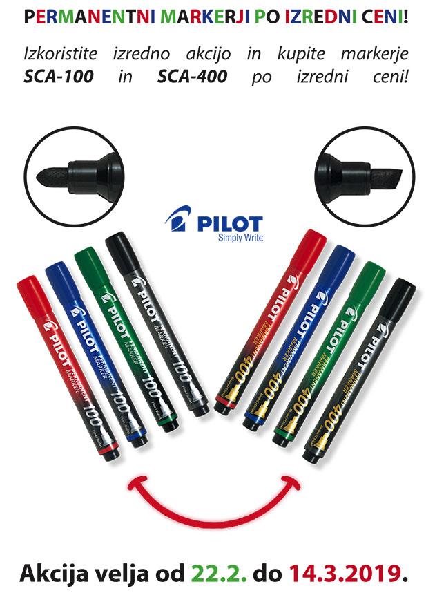 Pilot akcija SCA markerjev